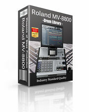 Roland MV-8800 drum sounds and samples library: digital delivery