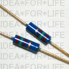 1pc RIKEN RMG 1W 6.2K Gold plated Carbon Film Resistor  #G2516 XH