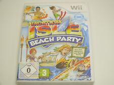!!! NINTENDO Wii SPIEL Vacation Isle Beach Party, gebraucht aber GUT !!!