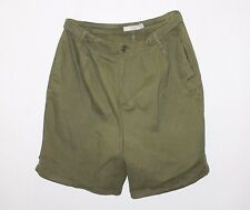 ASOS Designer Khaki Pleated Side Pocket Shorts Size 16-XL BNWT #ST105