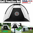 Indoor Outdoor Golf Practice Net Driving Hitting Nets Cage Training Aid & Bag
