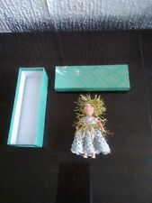 More details for vintage christmas fairy doll in box could be fairy or angel .doll is jointed..