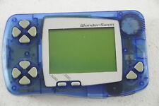 WonderSwan Handheld Clear Blue - used - JP