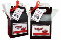 Personalised Disney Cars Inspired Birthday Party Favours Lunch Gift Box/Bag