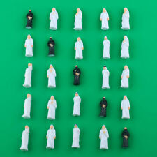 25pcs Mixed Middle East Arab People Figure Painted Train Model 1 50 Scale