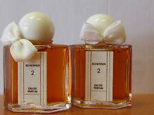 Lot Of 2 Pcs Scherrer # 2 By Jean-louis Perfume Women .17 fl.oz / 5 ml EDP MINI