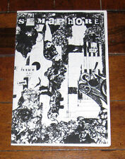 Semaphore Issue One 1 Christian Zine Fanzine Winnipeg Manitoba Canada Ixoye RARE