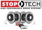 BMW E90 E92 E93 335i Front Rear StopTech Drilled & Slotted Brake Rotors Pads Kit