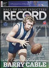 2012 AFL Football Record West Coast Eagles vs Carlton June 14-17 unmarked