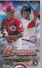 2018 Bowman Baseball Jumbo HTA Box Factory Sealed