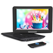 """14"""" Tragbarer DVD Player Full HD 1080P HDMI USB MP4 AKKU MP4 Region Free Memory"""