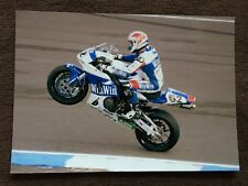 James Toseland Tenkate Honda 12x8 Photograph