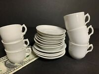 Antique Children's Toy Dishes~White Porcelain Ironstone~Doll Toy~Mixed Lot of 16