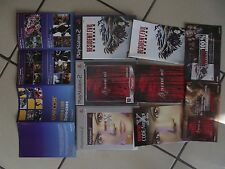 Lot PS2 Resident evil 4 , Outbreak et Veronica X