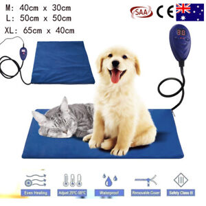NEW X-Large Size Electric Waterproof Pet Heating Pad Dog Puppy Cats Heated Mat