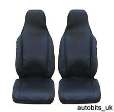NEW QUALITY TAILORED BLACK FRONT SEAT COVERS FOR NISSAN PIXO SUZUKI ALTO