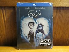 Tim Burton's Corpse Bride Fye Steelbook Blu ray. Brand New and Sealed.