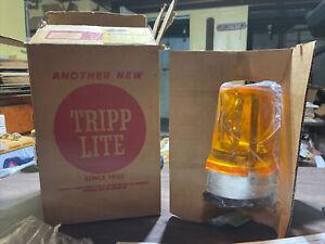 Tripp-Lite MV-2 Amber Strobe Warning Light Beacon 12VDC NIB