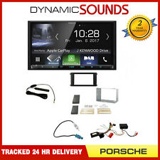 Kenwood Car Play Android Auto Double Din BOSE Upgrade Kit for Porsche Cayenne