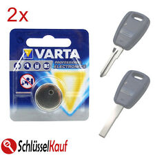 2x VARTA batteria chiave per FIAT BRAVO MAREA PANDA PUNTO STILO chiavi della macchina