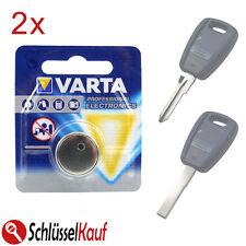 2x VARTA Schlüssel Batterie für Fiat Bravo Marea Panda Punto Stilo Autoschlüssel