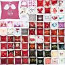 Valentine's Day Print Pillow Cases Polyester Sofa Car Cushion Cover Home Decor M