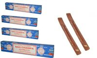 Satya Nag Champa Original Incense Stick Joss Stick and Ash Cather Incense Holder
