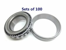 (Qty 100) Trailer Wheel Bearing L44649/10 2000-3500# Axle Spindle 1.063'' Set A4