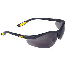 Dewalt DPG58-2C Reinforcer Smoke Lens High Performance Protective Safety Glasses