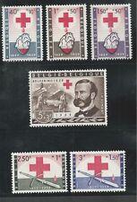 Belgium # B641-646 Mhg Red Cross Centenary