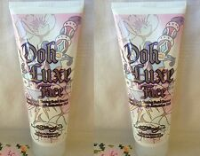 2 Ed Hardy OOH LA LUXE For Faces Facial Cream Bronzer Tanning Lotion