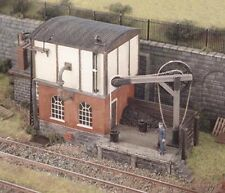 Ratio 540 Locomotive Servicing Depot, Water Tower, Hoist, '00' Gauge Kit T48P