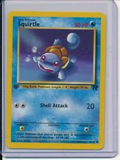 Squirtle 68/82 Team Rocket 1st Edition Pokemon Card
