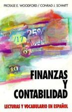 Finanzas y contabilidad: lecturas y vocabulario en español, Schmitt, Conrad J.,