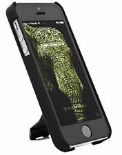 Pwr+® Iphone 5 5S Case Slim KickStand Style Extra Thin Cover Stand - Matte Black