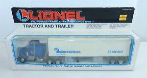 LIONEL #6-12778 Die-Cast ~ O/O27 GAUGE CONRAIL TRACTOR & TRAILER ~ NIB ~ T180