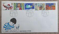 British postage Stamps Souvenir Covers - Commemorative envelopes & Stamp Album