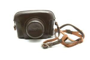 Minolta Rangefinder Brown Leather Case #C1056