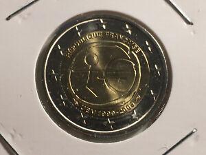 2 EURO FRANCE 2009 EMU 10 ANS DE L'EURO COMMEMORATIVE NEUVE