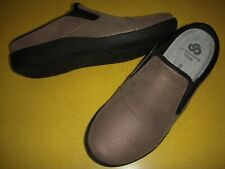 Clarks CLOUDSTEPPERS Sillian Free Slip-On Clogs Women's Shoes 7.5 W Pewter ~