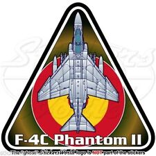 F-4 PHANTOM II SPAIN McDonnell Douglas F-4C Spanish AirForce Vinyl Decal-Sticker