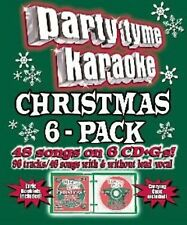 Party Tyme Karaoke - Christmas 6-Pack (48+48-song Party Pack) [6 CD]