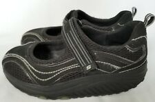 Skechers Women's Mary Jane Shape Ups Black Size 8 Shoes Toning Walking