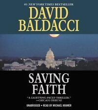 SAVING FAITH unabridged audio book on CD by DAVID BALDACCI (11 CDs / 13 Hours)