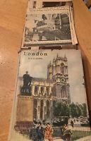 London Vintage Hardcover Book by E.O. Hoppe 1930's Dust Jacket Scarce!