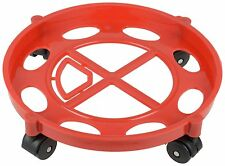 Gas Cylinder Trolley With Wheels -Gas Trolly - Lpg Cylinder Stand,Color May Vary