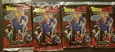 Dragon Ball Z CCG TCG Androids Saga Score Booster Packs X4 Lot Free Shipping