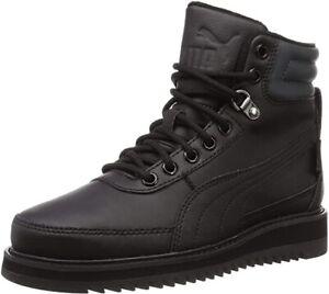 Puma Unisex Desierto V2 PURETEX Snow Boots - Black - UK 8.5 - Brand New in Box