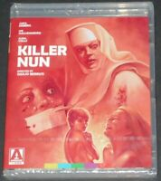 KILLER NUN usa blu-ray NEW SEALED arrow video ANITA EKBERG nunsploitation 1979