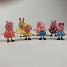 Peppa Pig And Friends Figures Lot of 8 Most From 2003